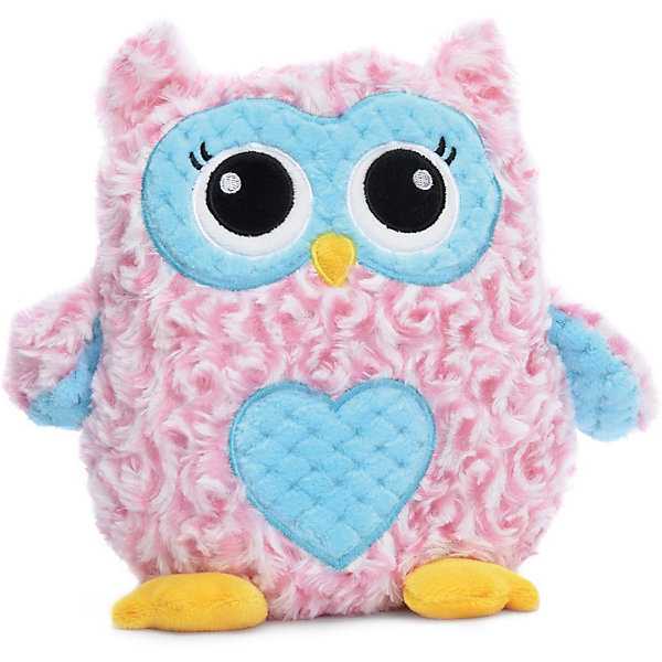 Devilon Мягкая игрушка Devilon Сова Ася, 18 см (розовая) мягкая игрушка развивающая k s kids часы сова