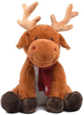 Мягкая игрушка Devilon  Олень Герберт , 45 см (бежевый), артикул:7452439 - Мягкие игрушки