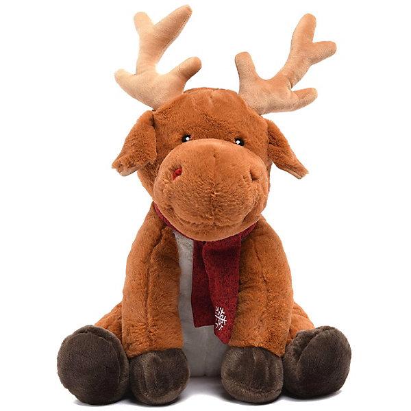 Купить Мягкая игрушка Devilon Олень Герберт , 45 см (бежевый), Китай, Унисекс