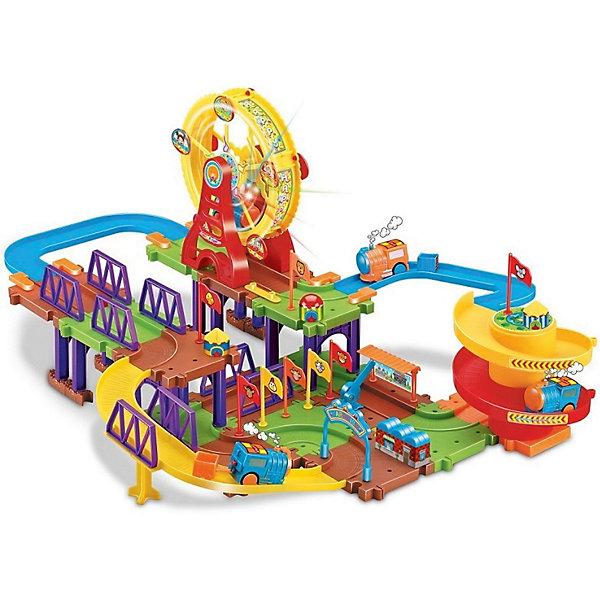 Купить Железная дорога Devik Toys Колесо обозрения 2 с поездом, Китай, Унисекс