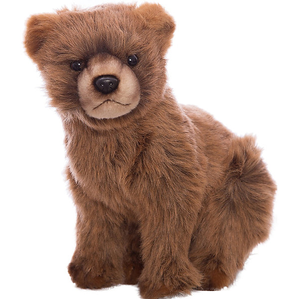 Мягкая игрушка Hansa Медвежонок, 24 см (коричневый)Мягкие игрушки животные<br>Характеристики товара:<br><br>• возраст: от 3 лет;<br>• цвет: коричневый;<br>• высота игрушки: 24 см.;<br>• состав: искусственный мех, текстиль, металл, пластик, наполнитель;<br>• упаковка: картонная коробка;<br>• вес в упаковке: 170 гр.;<br>• бренд, страна: Hansa, Филлипины;<br>• страна-производитель: Филлипины.<br><br>Мягкая игрушка «Медвежонок коричневый» от торговой марки Hansa из серии «Домашние и сельскохозяйственные животные» не только послужит ребенку отличной забавой, украсит интерьер дома, но и пополнит полку коллекционера. Она придает комнате атмосферу уюта и тепла. <br><br>Этот милый медвежонок никого не оставит равнодушным, его мягкую коричневую шерстку так приятно гладить. Фигурка выглядит очень реалистично и полностью учитывает анатомические особенности настоящего животного, а также окрас. Она изготовлена в ручную из качественных, не аллергенных материалов и безопасна для здоровья ребенка.<br><br>Данная модель способствует развитию воображения и тактильной чувствительности у детей. С таким медвежонком будет интересно играть, придумывая свои интересные приключения и неповторимые истории. Это забавная мягкая игрушка станет прекрасным подарком для детей от 3 лет.<br><br>Мягкие игрушки Филлипинского бренда Hansa — это красивые декоративные товары, выполненный в ручную,  отличающиеся высоким качеством и разнообразием, среди которых можно будет подобрать зверюшку в подарок не только детям, но и взрослым.<br><br>Мягкую игрушку «Медвежонок коричневый», сидячий, 24 см., Hansa можно купить в нашем интернет-магазине.<br>Ширина мм: 250; Глубина мм: 160; Высота мм: 240; Вес г: 170; Возраст от месяцев: 36; Возраст до месяцев: 2147483647; Пол: Унисекс; Возраст: Детский; SKU: 7453666;