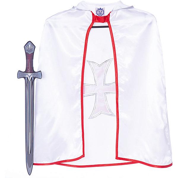 Набор Мальтийские Рыцари, Lion Touch (Плащ,Меч)Карнавальные костюмы для мальчиков<br>Характеристики товара:<br><br>• возраст: от 3 лет;<br>• материал: текстиль, EVA;<br>• в комплекте: плащ, меч;<br>• размер упаковки: 45х35х10 см;<br>• вес упаковки: 400 гр.;<br>• страна производитель: Китай.<br><br>Игровой набор «Мальтийские рыцари» Lion Touch позволит мальчишкам почувствовать себя настоящими рыцарями и устроить с друзьями захватывающие поединки. Набор подойдет не только для праздников или карнавала, но и для обычных игр дома с друзьями. Меч выполнен из безопасных материалов и не нанесет травм во время игры.<br><br>Игровой набор «Мальтийские рыцари» Lion Touch можно приобрести в нашем интернет-магазине.<br>Ширина мм: 450; Глубина мм: 350; Высота мм: 100; Вес г: 400; Возраст от месяцев: 36; Возраст до месяцев: 2147483647; Пол: Мужской; Возраст: Детский; SKU: 7454180;