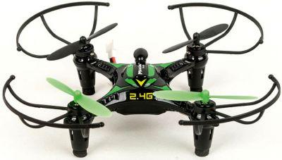 Квадрокоптер Mioshi  3D Мини-дрон-14  (черно-зеленый), артикул:7459444 - Радиоуправляемые игрушки
