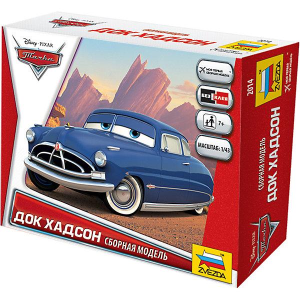 Сборная модель Тачки ХадсонТачки<br>Характеристики товара: <br><br>• возраст: от 7 лет;<br>• материал: пластик;<br>• в комплекте: 17 деталей для сборки;<br>• размер собранной модели: 9,3 см;<br>• размер упаковки: 16,2х12,8х4 см;<br>• вес упаковки: 66 гр.;<br>• страна бренда: Россия.<br><br>Сборная модель Звезда «Тачки. Хадсон» создана по мотивам популярного мультфильма «Тачки» про приключения Молнии Маккуина. Из деталей дети соберут одного из персонажей мультфильма, наставника Молнии Маккуина, бывшего гонщика Дока Хадсона.  <br><br>Сборную модель Звезда «Тачки. Хадсон» можно приобрести в нашем интернет-магазине.<br>Ширина мм: 129; Глубина мм: 162; Высота мм: 38; Вес г: 75; Возраст от месяцев: 84; Возраст до месяцев: 2147483647; Пол: Унисекс; Возраст: Детский; SKU: 7459595;