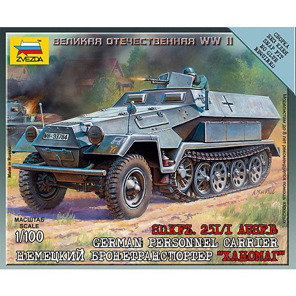 цена на Звезда Сборная модель Немецкий бронетранспортер