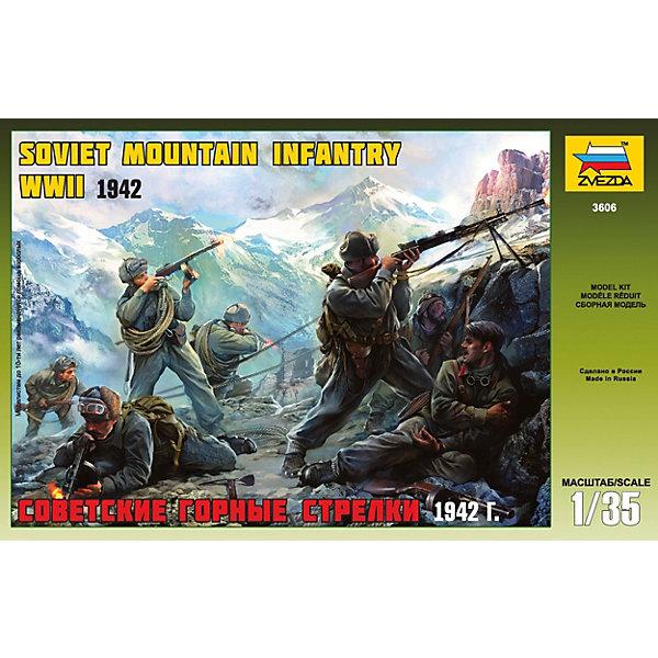 цена на Звезда Сборная модель Советские горные стрелки