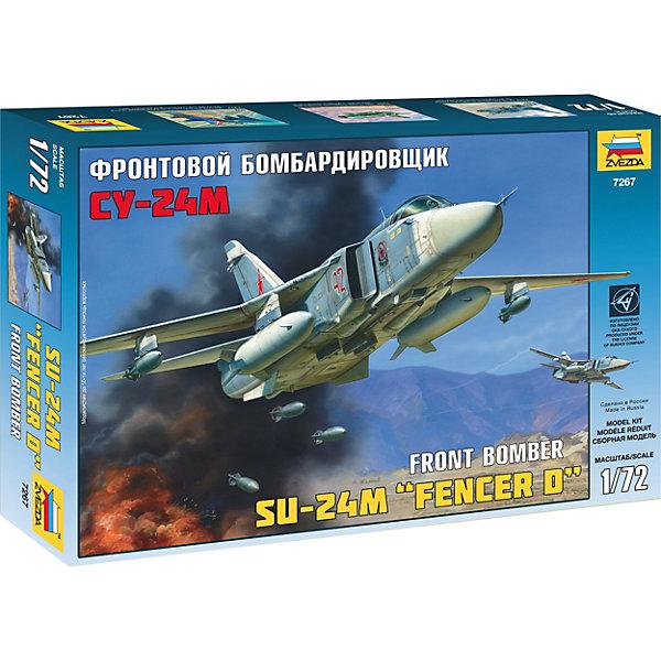 Звезда Сборная модель Самолет Су-24М звезда сборная модель звезда самолет су беркут 1 72 подарочный набор