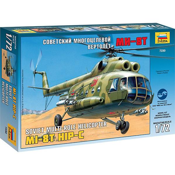 Звезда Сборная модель Вертолет Ми-8 сборная модель zvezda вертолет ми 28 7246п