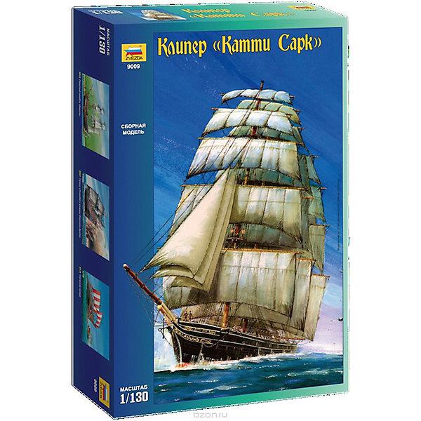 Сборная модель  Корабль Катти СаркКорабли и подводные лодки<br>Характеристики:<br><br>• возраст: от 10 лет;<br>• материал: пластик;<br>• масштаб: 1:130;<br>• клей и краски: не в комплекте;<br>• длина модели: 48 см;<br>• вес упаковки: 545 гр.;<br>• размер упаковки: 48,7х30,7х8,5 см;<br>• страна производитель: Россия.<br><br>Модель для сборки Zvezda «Корабль Катти Сарк» детально изображает одноименный парусник. Каждый элемент легко и без повреждений отсоединяется от литника. Модель можно раскрасить по цветам из инструкции.<br><br>Сборка улучшает внимательность, мелкую моторику и пространственное мышление. Понятная поэтапная инструкция поможет собрать точную копию прототипа.<br><br>Готовая модель выглядит максимально реалистично, подходит для тематических игр и станет достойной частью коллекции. Набор выполнен из качественных материалов, соответствующих стандартам безопасности.<br><br>Сборную модель «Корабль Катти Сарк» можно купить в нашем интернет-магазине.<br>Ширина мм: 487; Глубина мм: 307; Высота мм: 85; Вес г: 545; Возраст от месяцев: 84; Возраст до месяцев: 2147483647; Пол: Унисекс; Возраст: Детский; SKU: 7459828;