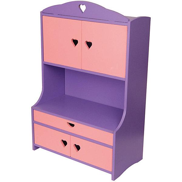 Краснокамская игрушка Мебель для куклы Краснокамская игрушка Буфет краснокамская игрушка мебель для кукол магазин с четырьмя ящичками