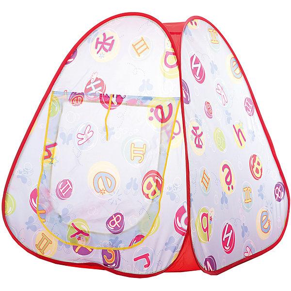 Фотография товара игровая палатка Shantou Gepai Алфавит, в сумке (7460849)