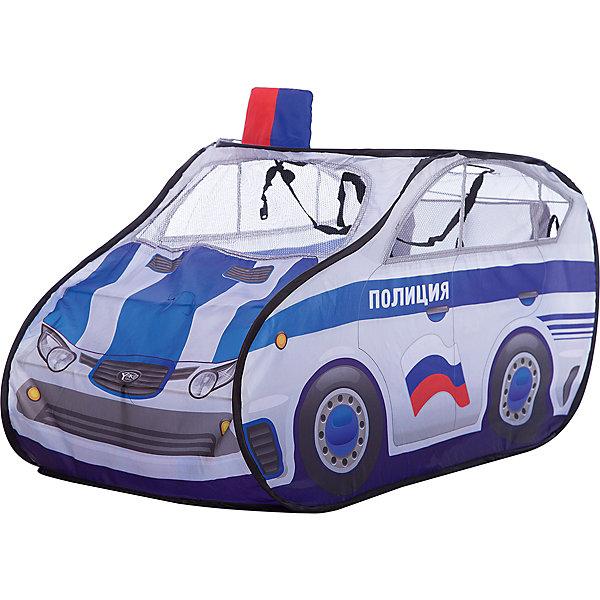 Фотография товара игровая палатка Shantou Gepai Полицейская машина, в сумке (7460867)