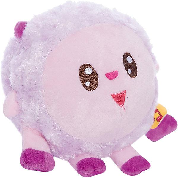 """Мягкая игрушка озвученная Мульти-Пульти """"Малышарики: Бараш"""", 10 см, Фиолетовый"""