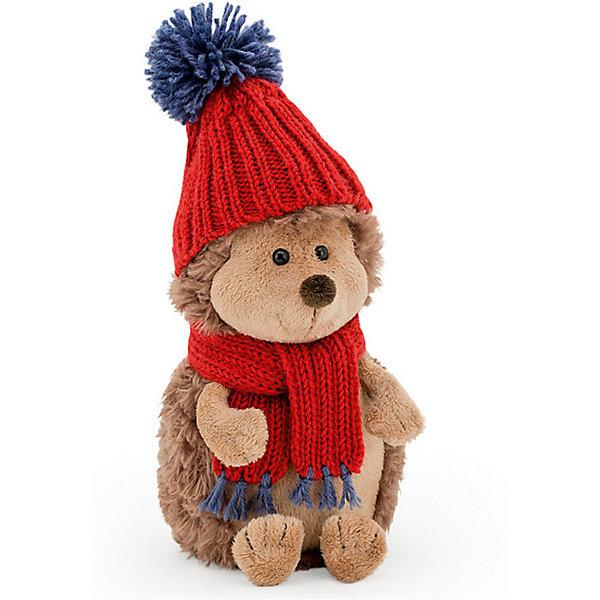 Купить Мягкая игрушка Orange Ёжик Колюнчик в красной шапке, 20 см, Китай, Унисекс