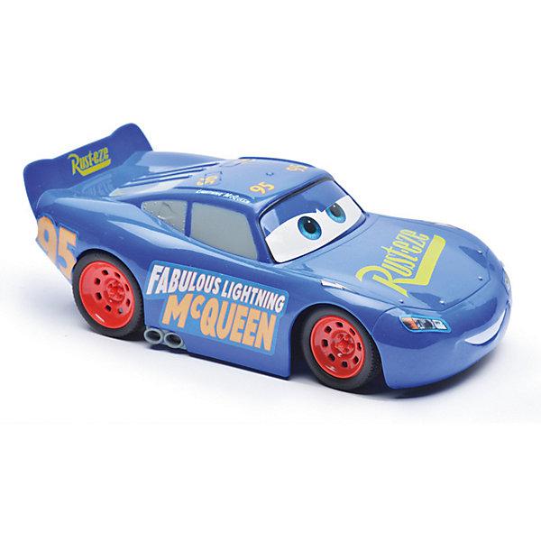 Автомобиль р/у Disney/Pixar Тачки 3: Молния Маккуин (22 см, син.)Радиоуправляемые машины<br>Радиоуправляемые машинки традиционно являются любимыми игрушками мальчиков.<br>Автомобиль р/у Disney/Pixar Молния Маккуин из популярного мультфильма Тачки 3 выполнен в компактном размере, ездит вперёд/назад, влево/вправо и поворачивает во все стороны.<br>Обратите внимание на оригинальный пульт управления, который не оставит равнодушным ни одного мальчика.<br>Игрушка сделана из сертифицированных материалов и абсолютно безопасна для ребёнка - Disney проводит строгий аудит материалов и процесса производства.<br>Преимущества:<br>Игрушка из популярного мультфильма Disney <br>Движение вперёд/назад, влево/вправо и повороты во все стороны <br>Фирменная, качественная упаковка<br>Характеристики:<br>Для детей от 3 лет <br>Размер: 22 см <br>Материал: пластмасса, металл <br>Произведено в Китае<br>Комплектность:<br>Автомобиль <br>Оригинальный пульт ДУ <br>Инструкция<br>Внимание! Для работы машинки требуются 3 батарейки типа АА (не входят в комплект). Для работы пульта - 2 батарейки типа АА (не входят в комплект).<br>Ширина мм: 360; Глубина мм: 135; Высота мм: 155; Вес г: 523; Возраст от месяцев: 36; Возраст до месяцев: 72; Пол: Мужской; Возраст: Детский; SKU: 7463983;