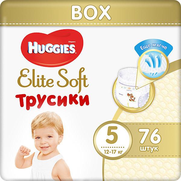 HUGGIES Трусики-подгузники Huggies Elite Soft 5, 12-17 кг, 76 шт.