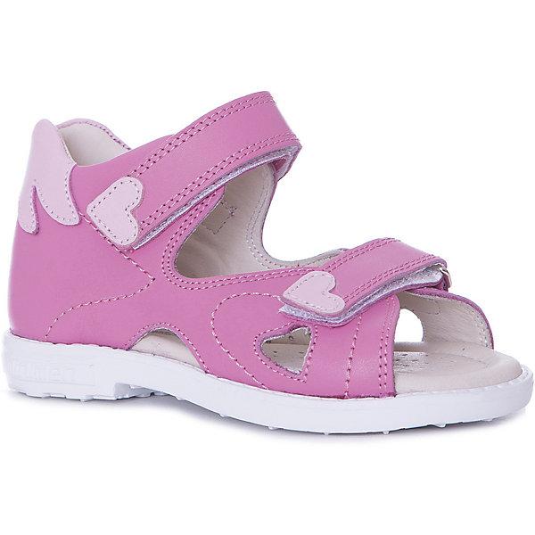 Minimen Сандалии Minimen для девочки девушка обувь красивые кружева вышитые принцесса одна обувь девушки дышащая сандалии детская обувь для девочки