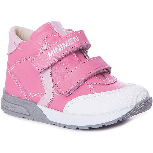 Купить со скидкой Ботинки Minimen для девочки