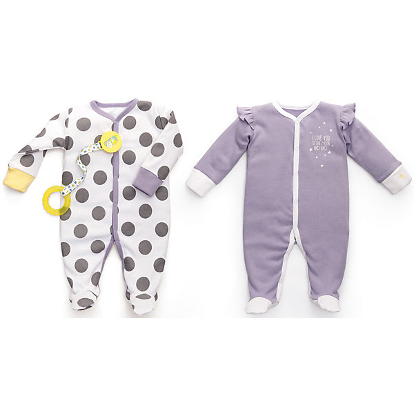 Набор из двух пижам Happy Baby для девочки