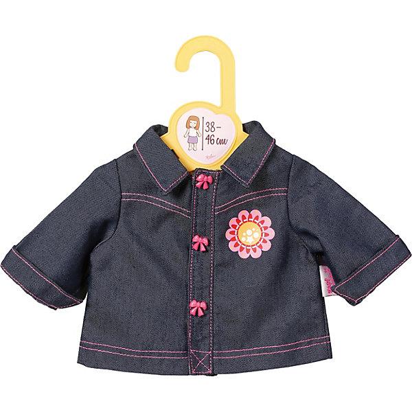 Zapf Creation Одежда для кукол Zapf Creation Baby Born, джинсовка куклы и одежда для кукол zapf creation baby annabell памперсы 5 штук