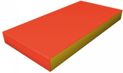 Гимнастический мат Romana  Kid  мягкий, желто-оранжевый, артикул:7479624 - Спортивные комплексы