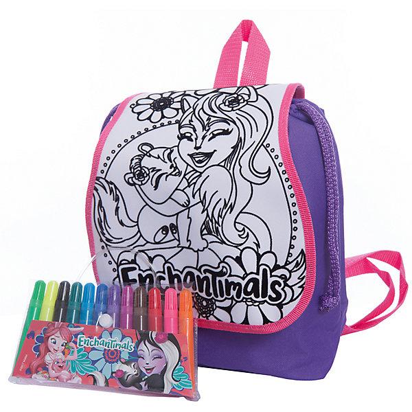Купить Набор для творчества Centrum Enchantimals Раскрась рюкзачок, Сэйдж Сканк, Китай, разноцветный, Женский