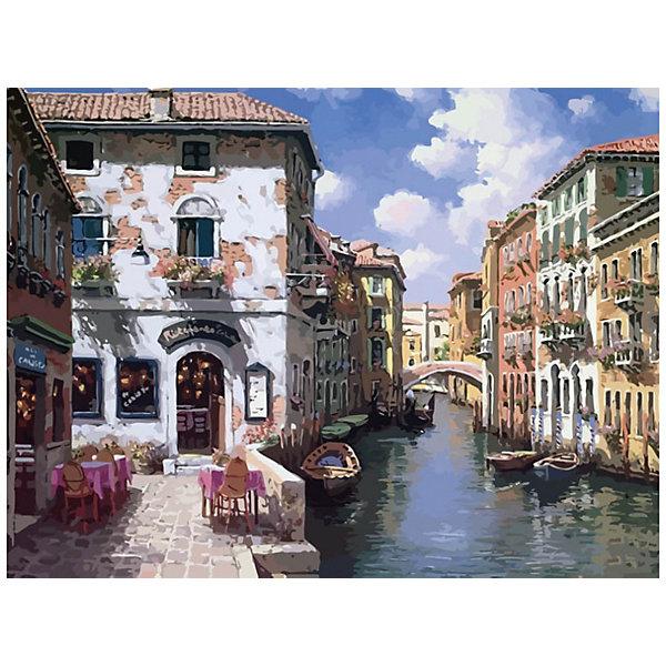 Купить Раскраска по номерам Белоснежка Венецианские дома , 40х50 см, Китай, Унисекс