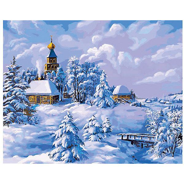 Раскраска по номерам Белоснежка Зима в деревне, 40х50 смКартины по номерам<br>Характеристики:<br><br>• тип набора для творчества: картина по номерам;<br>• возраст: от 6 лет;<br>• размер: 40х50 см;<br>• количество красок: 29 цветов;<br>• тип красок: акриловые;<br>• комплектация: полотно с эскизом рисунка, сверочный лист, краски, кисточки, комплект креплений;<br>• автор сюжета: Виктор Цыганов;<br>• вес: 1 кг;<br>• бренд: Белоснежка.<br><br> Набор «Зима в деревне» представляет собой комплект для живописи на цветном холсте. Он подойдет для детей от 6 лет и старше и станет увлекательным времяпрепровождением для любого ребенка.  Кроме того, это оригинальный подарок как начинающим художникам-любителям, так и профессионалам. Шаг за шагом, закрашивая красками пронумерованные фрагменты изображения, можно получить в итоге такую симпатичную картину. В качестве украшения интерьера она придется очень кстати.<br> <br>Большие участки картины залиты светлой краской с близким оттенком по цвету. Благодаря этому, легче ориентироваться в сюжете картины, ведь всегда понятно, какая часть картины сейчас в работе. Цветные участки хорошо закрашиваются акриловыми красками.<br><br>Техника раскрашивания по номерам дает возможность легко рисовать даже сложные сюжеты. Прекрасно развивает художественный вкус, аккуратность и усидчивость. Набор предназначен  для детей  и взрослых.<br><br> Набор «Зима в деревне»  можно купить в нашем интернет-магазине.<br>Ширина мм: 40; Глубина мм: 50; Высота мм: 50; Вес г: 900; Возраст от месяцев: 72; Возраст до месяцев: 2147483647; Пол: Унисекс; Возраст: Детский; SKU: 7482331;