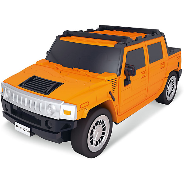 3Д-пазл Автомобиль (оранжевый)3D пазлы<br>Характеристики товара:<br><br>• возраст: от 14 лет;<br>• материал: пластик;<br>• в комплекте: 70 деталей;<br>• масштаб машины: 1:32;<br>• размер упаковки: 22х15х5 см;<br>• вес упаковки: 240 гр.;<br>• страна производитель: Китай.<br><br>3D пазл Happy Fun «Автомобиль оранжевый» позволит собрать из деталей объемную модель автомобиля. Все элементы имеют специальные пазы для соединения между собой. Сборка происходит без дополнительных инструментов и клея. В процессе сборки у детей развивается мелкая моторика рук, внимательность, усидчивость, логическое мышление.<br><br>3D пазл Happy Fun «Автомобиль оранжевый» можно приобрести в нашем интернет-магазине.<br>Ширина мм: 220; Глубина мм: 150; Высота мм: 50; Вес г: 240; Цвет: оранжевый; Возраст от месяцев: 36; Возраст до месяцев: 2147483647; Пол: Унисекс; Возраст: Детский; SKU: 7484901;