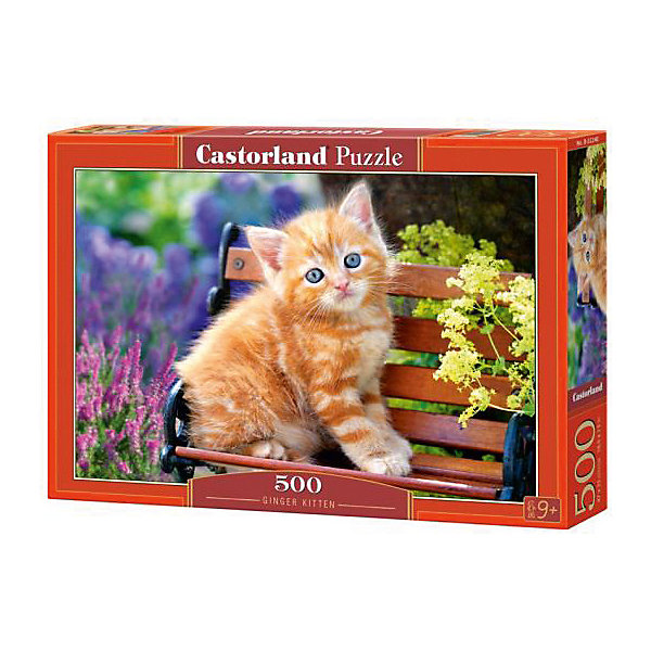 Castorland Пазл Castorland Котенок 500 деталей цена