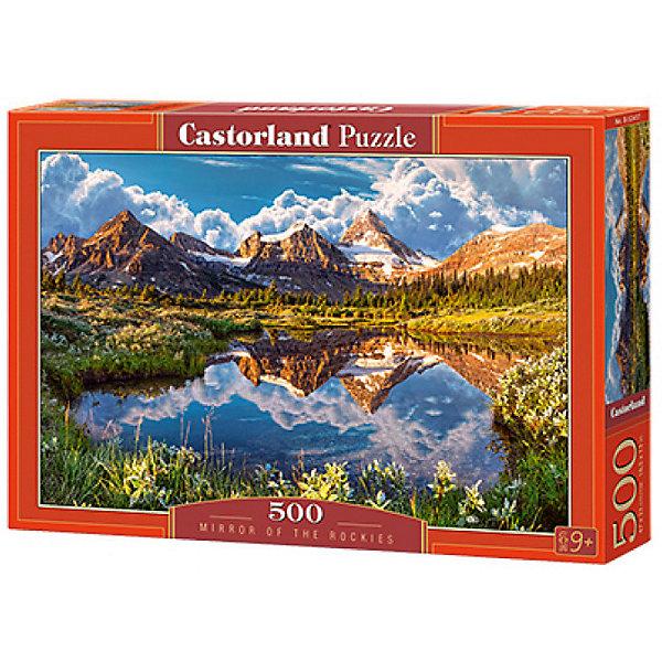 Пазл Castorland Скалистые горы 500 деталейПазлы классические<br>Характеристики товара:<br><br>• возраст: от 6 лет;<br>• количество деталей: 500 шт;<br>• материал: картон;<br>• размер упаковки: 32х22х4,7 см;<br>• размер картины: 47х33 см;<br>• вес упаковки: 320 гр.;<br>• страна производитель: Польша.<br><br>Пазл Castorland (Касторлэнд) Скалистые горы – это отличный способ увлекательно провести досуг, снять стресс и развить моторику.<br><br>Качество этих пазлов подтверждено миллионами любителей сборки пазлов. Пазлы Castorland собираются легко. Каждая деталь имеет индивидуальную форму и легко соединяется с другой, поэтому у Вас обязательно получится ожидаемый результат - картина собранная собственными руками.<br><br>Пазл Castorland (Касторлэнд) Скалистые горы можно купить в нашем интернет-магазине.<br>Ширина мм: 320; Глубина мм: 220; Высота мм: 47; Вес г: 300; Возраст от месяцев: 72; Возраст до месяцев: 2147483647; Пол: Унисекс; Возраст: Детский; SKU: 7487312;