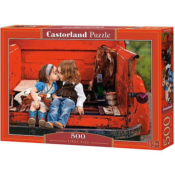 Castorland Пазл Castorland Первый поцелуй 500 деталей цена