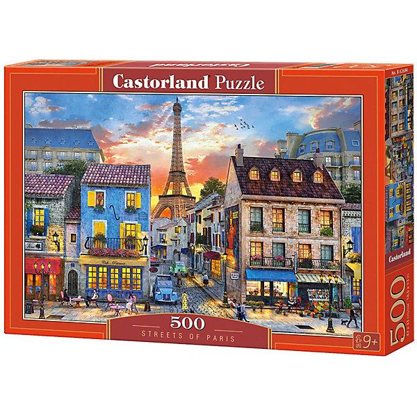 Купить Пазл Castorland Улицы Парижа 500 деталей, Польша, Унисекс