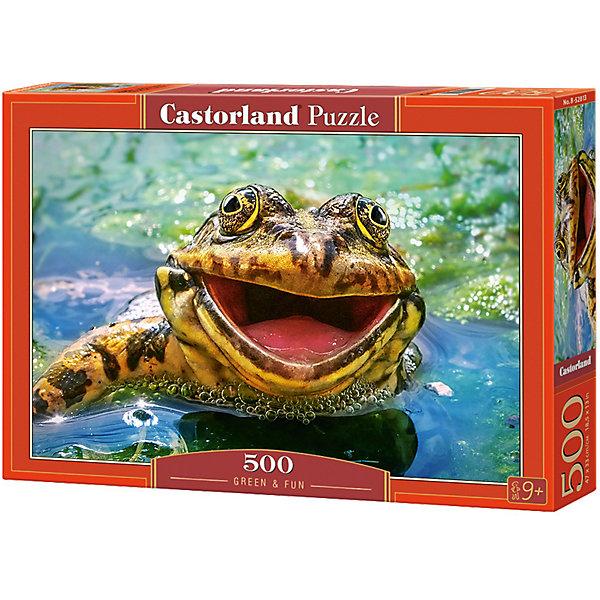 Купить Пазл Castorland Зеленая и забавная 500 деталей, Польша, Унисекс