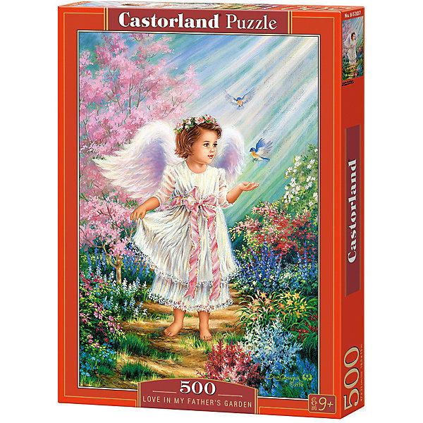 Купить Пазл Castorland Ангел в саду 500 деталей, Польша, Унисекс