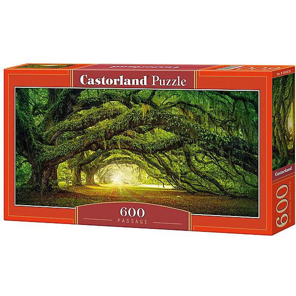 Купить Пазл Castorland Дорога в лесу 600 деталей, Польша, Унисекс
