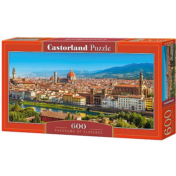 Castorland Пазл Castorland Панорама Флоренции 600 деталей castorland пазл единорог