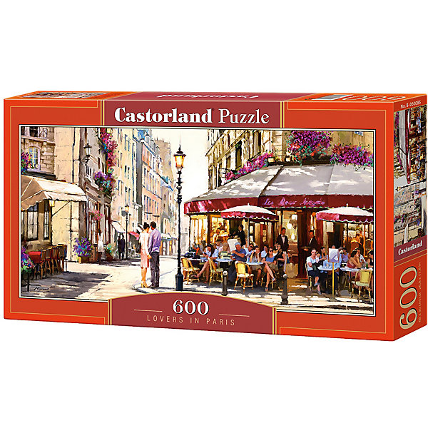 Castorland Пазл Castorland Париж 600 деталей