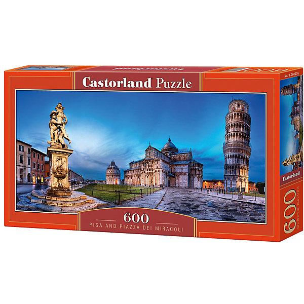 Castorland Пазл Castorland Пизанская башня 600 деталей цена