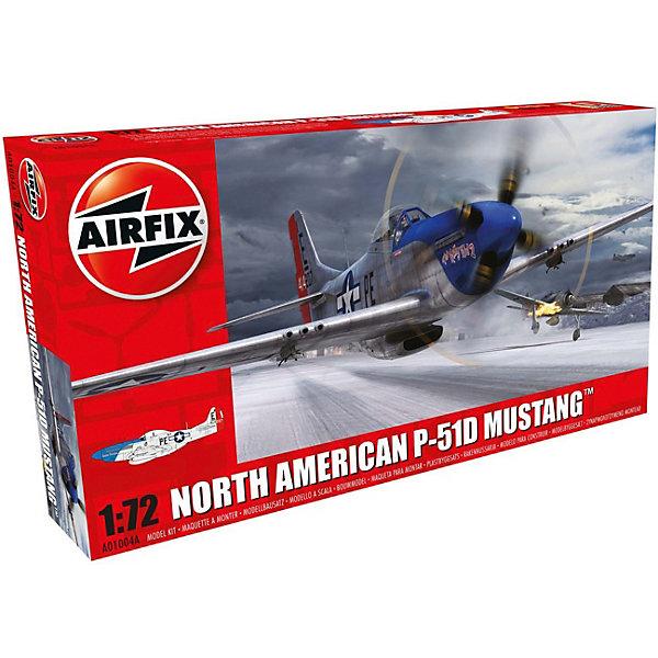 Сборная модель Airfix  Истребитель North American P-51D Mustang 1:72Самолеты и вертолеты<br>Характеристики:<br><br>• возраст: от 8 лет;<br>• материал: пластик;<br>• масштаб: 1:72;<br>• количество элементов: 53;<br>• схема покраски;<br>• декаль: да;<br>• клей и краски: не в наборе;<br>• длина модели: 13,6 см;<br>• размах крыльев: 15,6 см;<br>• вес упаковки: 98 гр.;<br>• размер упаковки: 23,4х12,5х3,1 см;<br>• страна бренда: Великобритания.<br><br>Модель для сборки North American P-51D Mustang от Airfix изображает одноименный военный истребитель. Каждая деталь выполнена из качественного пластика, элементы детализированы под покраску, также для оформления самолета используется декаль.<br><br>В подробной инструкции описаны шаги к созданию идентичной копии самолета. Конструирование модели развивает усидчивость и внимательность, повышает творческие способности и задействует пространственное мышление.<br><br>Готовая модель может стать отличным подарком близким, личным сувениром или частью коллекции сборных моделей.<br><br>Сборную модель North American P-51D Mustang 1:72 можно купить в нашем интернет-магазине.<br>Ширина мм: 234; Глубина мм: 125; Высота мм: 31; Вес г: 98; Возраст от месяцев: 96; Возраст до месяцев: 2147483647; Пол: Мужской; Возраст: Детский; SKU: 7490420;
