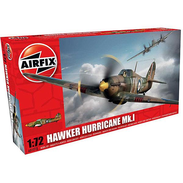 Сборная модель Airfix Истребитель Hawker Hurricane Mk.I 1:72Самолеты и вертолеты<br>Характеристики:<br><br>• возраст: от 8 лет;<br>• материал: пластик;<br>• масштаб: 1:72;<br>• количество элементов: 51;<br>• схема покраски;<br>• клей и краски: не в наборе;<br>• длина модели: 13,3 см;<br>• размах крыльев: 17,1 см;<br>• вес упаковки: 113 гр.;<br>• размер упаковки: 23,5х12,6х3 см;<br>• страна бренда: Великобритания.<br><br>Модель для сборки Hawker Hurricane Mk.I от Airfix изображает одноименный военный истребитель. Каждая деталь выполнена из качественного пластика, элементы детализированы под покраску.<br><br>В подробной инструкции описаны шаги к созданию идентичной копии самолета. Конструирование модели развивает усидчивость и внимательность, повышает творческие способности и задействует пространственное мышление.<br><br>Готовая модель может стать отличным подарком близким, личным сувениром или частью коллекции сборных моделей.<br><br>Сборную модель Hawker Hurricane Mk.I 1:72 можно купить в нашем интернет-магазине.<br>Ширина мм: 235; Глубина мм: 126; Высота мм: 30; Вес г: 113; Возраст от месяцев: 96; Возраст до месяцев: 2147483647; Пол: Мужской; Возраст: Детский; SKU: 7490423;