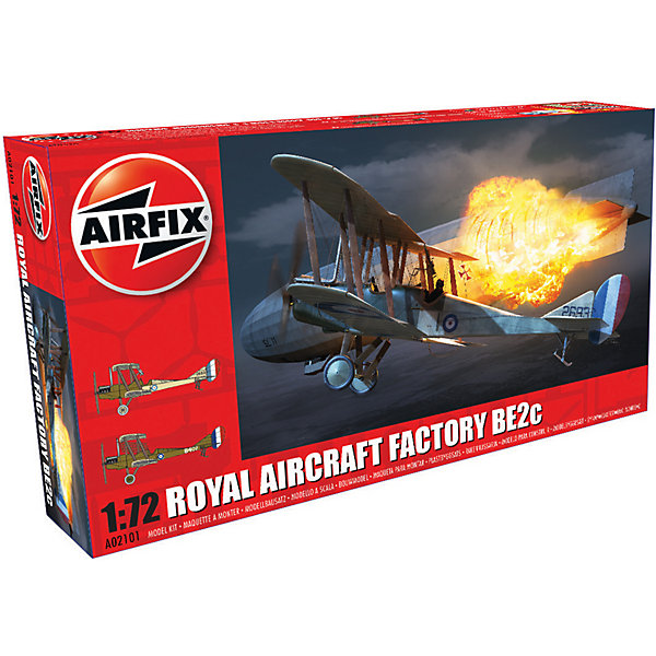 Airfix Сборная модель Airfix Истребитель Royal Aircraft Factory BE2c 1:72 1 200 ank dhc 8 300 q300 hogan aircraft model ja801k
