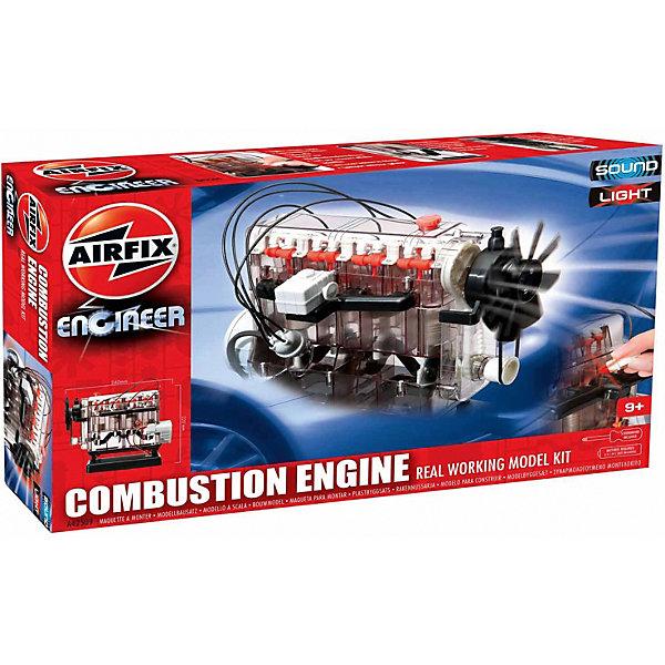 Сборная модель Airfix  Двигатель внутреннего сгоранияРобототехника и электроника<br>Характеристики:<br><br>• возраст: от 9 лет;<br>• материал: пластик;<br>• в комплекте: более 100 деталей, инструкция;<br>• тип батареек: 3х1,5v АА;<br>• наличие батареек: не в наборе;<br>• размер модели: 23,5х11 см;<br>• вес упаковки: 1,22 кг.;<br>• размер упаковки: 45,2х29,6х7,4 см;<br>• страна бренда: Великобритания.<br><br>Модель для сборки «Двигатель внутреннего сгорания» от Airfix продемонстрирует устройство своего прототипа. Рабочее устройство имеет турбовинтовой вентилятор. При запуске видно, как система приводит в действие поршни, которые опускаются вниз. Модель стоит на устойчивой платформе.<br><br>Сборную модель «Двигатель внутреннего сгорания» можно купить в нашем интернет-магазине.<br>Ширина мм: 452; Глубина мм: 296; Высота мм: 74; Вес г: 1229; Возраст от месяцев: 108; Возраст до месяцев: 2147483647; Пол: Унисекс; Возраст: Детский; SKU: 7490532;