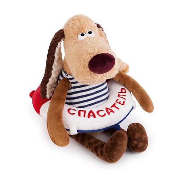 Мягкая игрушка Budi Basa Собака Жора-спасатель, 30 смСимвол 2018 года: Собака<br>Характеристики товара:<br><br>• возраст: от 3 лет;<br>• материал: текстиль, искусственный мех;<br>• высота игрушки: 30 см;<br>• упаковка: подарочная упаковка крафтового типа;<br>• размер упаковки: 14х14х30 см;<br>• вес упаковки: 380 гр.;<br>• страна производитель: Россия.<br><br>Мягкая игрушка «Жора-спасатель» Budi Basa - очаровательный пушистый песик с добрыми глазками. Благодаря красивой подарочной упаковке Жора-спасатель будет хорошим презентом на различные праздники.<br><br>Жора спасет от чего угодно: от скуки, осенней хандры или плохого настроения с утра! Мягкие длинные передние и задние лапки собачки можно поворачивать практически под любым углом, укладывать их друг на друга или сажать игрушку в различные оригинальные позы.<br><br>Мягкую игрушку «Жора-спасатель», 30 см., Budi Basa можно приобрести в нашем интернет-магазине.<br>Ширина мм: 140; Глубина мм: 140; Высота мм: 300; Вес г: 380; Возраст от месяцев: 36; Возраст до месяцев: 2147483647; Пол: Унисекс; Возраст: Детский; SKU: 7491161;