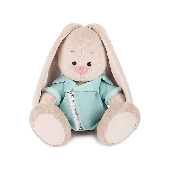 Budi Basa Мягкая игрушка Budi Basa Зайка Ми в голубой меховой курточке, 18 см budi basa мягкая игрушка budi basa зайка ми в голубой пижаме 23 см