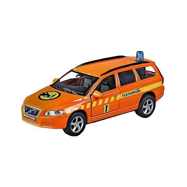 Машина 1:36 Volvo V70 Техпомощь, свет, звук, откр.двери, 13смМашинки<br>Характеристики товара:<br><br>• возраст: от 3 лет;<br>• материал: металл;<br>• масштаб машины: 1:36;<br>• длина машинки: 13 см;<br>• размер упаковки: 16х12,5х7,5 см;<br>• вес упаковки: 220 гр.;<br>• страна производитель: Китай.<br><br>Машина Volvo V70 «Техпомощь» Пламенный мотор представляет собой копию настоящего автомобиля. У машинки открываются двери, на крыше установлена мигалка. При нажатии на проблесковый маячок включаются световые и звуковые эффекты, которые делают игру еще увлекательней. Машинка оснащена инерционным механизмом. Стоит только откатить ее назад и отпустить, чтобы она поехала вперед. Выполнена машинка из прочного металла.<br><br>Машину Volvo V70 «Техпомощь» Пламенный мотор можно приобрести в нашем интернет-магазине.<br>Ширина мм: 160; Глубина мм: 75; Высота мм: 125; Вес г: 220; Возраст от месяцев: 36; Возраст до месяцев: 2147483647; Пол: Мужской; Возраст: Детский; SKU: 7501984;