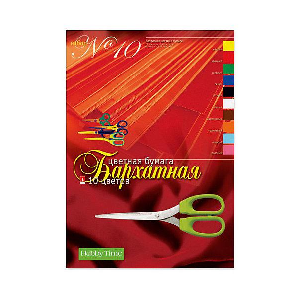 Альт Набор цветной бумаги № 10 Альт А4, 10 листов (бархатная) обширный guangbo инка серии цветной копировальной бумаги 80ga4 100 zhang цветной смешанный f8069h