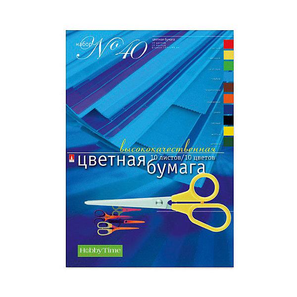 Альт Набор цветной бумаги № 40 Альт А4, 10 листов обширный guangbo инка серии цветной копировальной бумаги 80ga4 100 zhang цветной смешанный f8069h
