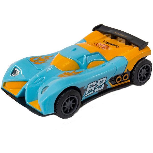 Машинка для трэка Kidz Tech Hot Wheels, 1:43 (сине-оранжевая)Машинки<br>Характеристики:<br><br>• тип игрушки: машинка;<br>• возраст: от 8 лет;<br>• размер: 14х7х19 см;<br>• масштаб: 1:43;<br>• цвет: сине-оранжевый;<br>• длина: 9 см;<br>• вес: 98 гр;<br>• материал: пластик;<br>• бренд: KidzTech;<br>• страна производителя: Китай.<br><br>Машинка для трэка KidzTech, Hot Wheels обладает сине-оранжевым обтекаемым корпусом, что позволяет ей развивать приличную скорость в гонках. Выполнена игрушка от торговой марки Kidz Tech в масштабе 1 к 43, а ее дизайн отличается потрясающим уровнем детализации. <br><br>Кроме того, у транспортного средства для трека Hot Wheels присутствуют световые эффекты. Машинка со стильным корпусом в зелено-черном цвете привлекает внимание, а черные колеса с зелеными вставками способны развивать невероятную скорость – до 450 км/ч.<br><br>Машинку для трэка KidzTech, Hot Wheels можно купить в нашем интернет-магазине.<br>Ширина мм: 40; Глубина мм: 70; Высота мм: 140; Вес г: 98; Возраст от месяцев: 60; Возраст до месяцев: 2147483647; Пол: Мужской; Возраст: Детский; SKU: 7502316;