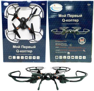 Квадрокоптер Властелин Небес  Мой первый Q-коптер , артикул:7502327 - Радиоуправляемые игрушки